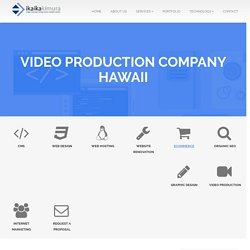 Video Production Company Hawaii