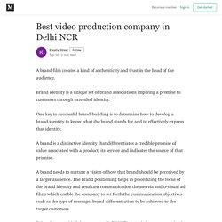 Best video production company in Delhi NCR - Kreativ Street
