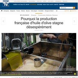 BFM BUSINESS 20/06/17 Pourquoi la production française d'huile d'olive stagne désespérément