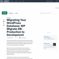 Migrating Your WordPress Database: WP Migrate DB – Production to Development