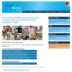 Ideas That Work - Training DVDs, resources, DVD production, aged care, disabi...