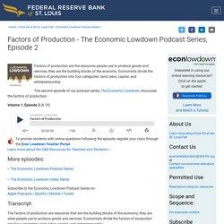 Economic Lowdown Podcasts