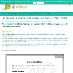 Production Écrite FLE