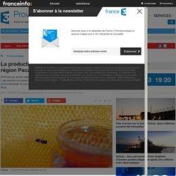 FRANCE 3 PACA 22/09/16 La production de miel s'est effondrée en région Paca