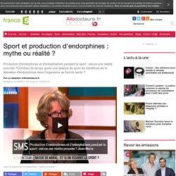 Sport et production d'endorphines : mythe ou réalité ?