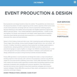 Event Production & Design