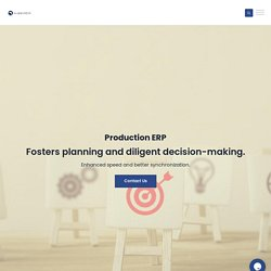 ERP for Production Management