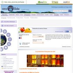 Production de miel en France