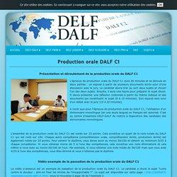 Production orale DALF C1