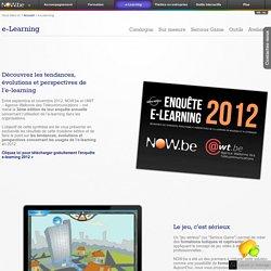 Now - e-Learning factory, production multimédia à vocation pédagogique, rapid-learning, serious game
