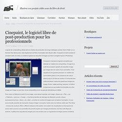 Cinepaint, le logiciel libre de post-production pour les professionnels