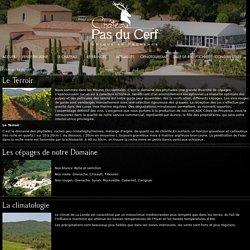 Le vignole Chateau Pas du Cerf - Production de vins provence Var Vaucluse