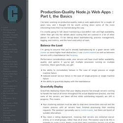 Production-Quality Node.js Web Apps : Part I, The Basics - caines.ca