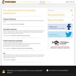 Le Crabe Fantôme - Nantes : production, réalisation, diffusion, cinéma, télévision, mobile, Internet.
