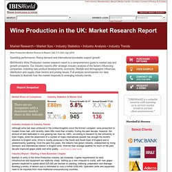 Wine Production in the UK Market Research