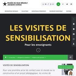 Jacques Chirac - Production - musée du quai Branly - Jacques Chirac - Les visites de sensibilisation