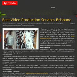 Video Production Services by Professionals