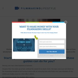Starting a Video Production Company: Guides For Starting & Growing a Successful Video Production Business