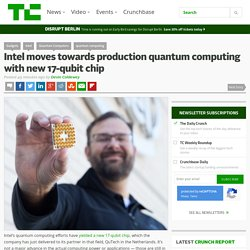 Intel moves towards production quantum computing with new 17-qubit chip