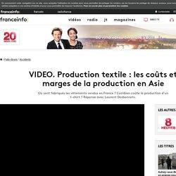 Vidéo : Production textile - les coûts et marges de la production en Asie