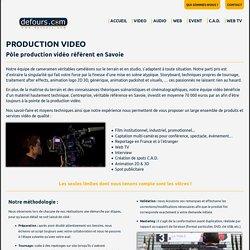 Production vidéo - Savoie
