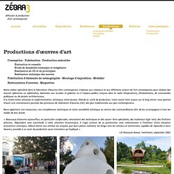 Productions d'oeuvres d'art