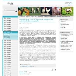 INRA Prod. Anim., 2007, 20 (3), 189. Première partie : Outils de diagnostic et émergence des maladies infectieuses aquacoles