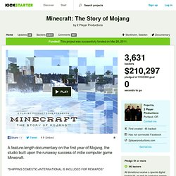 Minecraft: The Story of Mojang by 2 Player Productions
