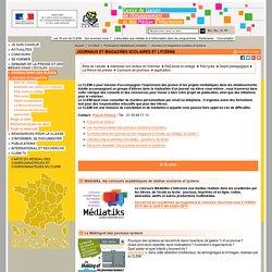Journaux et magazines scolaires et lycéens - Productions médiatiques scolaires