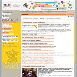 Pédagogie - Radio et webradio - Productions médiatiques scolaires