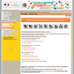 Kit journal lycéen en ligne