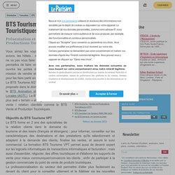 BTS Tourisme : Ventes et Productions Touristiques (VPT) - Le Parisien Etudiant