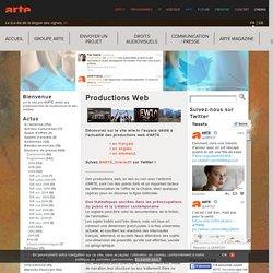 Productions Web ARTE France