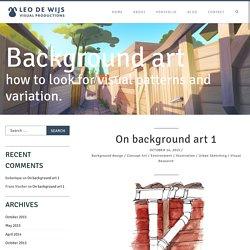 On background art 1 - Leo De Wijs Visual ProductionsLeo De Wijs Visual Productions