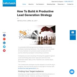 How To Build A Productive Lead Generation Strategy