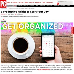 5 Productive Habits to Start Your Day