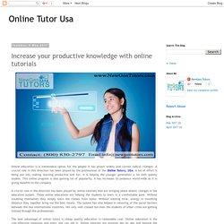 Online Tutor USA
