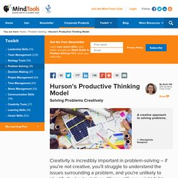 Hurson's Productive Thinking Model - Problem-Solving from Mind Tools