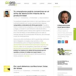 El Blog de la productividad personal, efectividad y GTD