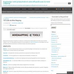 +30 outils de Mind Mapping « Cartographier ses idées & Productivité