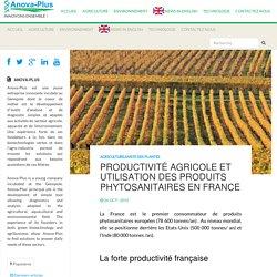 Productivité et produits phytosanitaires - Anova-Plus