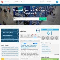 Enhance Your Productivity With Custom Application Development