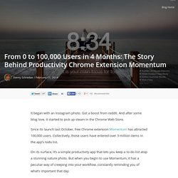 From 0 to 100,000 Users in 4 Months: The Story Behind Productivity Chrome Extension Momentum