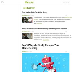 Productivity News, Videos, Reviews and Gossip - Lifehacker