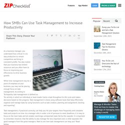 Increase Productivity with Employee Task Management Software and App