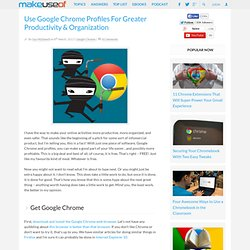 Use Google Profiles for Greater Productivity and Organization