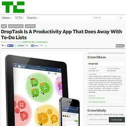 DropTask Is A Productivity App That Does Away With To-Do Lists