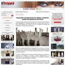 Pequeños productores de alpaca recibirán ayuda del gobierno de Perú - Noticias : Industria (#562029)