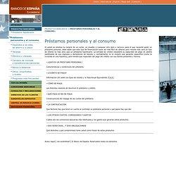 Portal del Cliente Bancario - Productos bancarios - Créditos y préstamos personales y al consumo