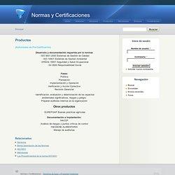 Normas y Certificaciones